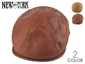 ☆NEWYORK HAT【ニューヨークハット】#9214 Vintage Leather 1900 ヴィンテージレザー 18546 [春夏 MADE IN USA メンズ レディース]