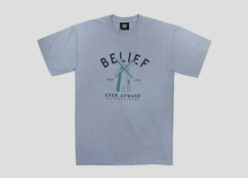 【あす楽対応】Belief OLD MILL TEE/GRANITE ビリーフ Tシャツ 半袖 Beliefnyc