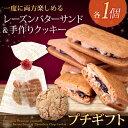 大人のレーズンバターサンドとチョコチップクッキー[冷] ホワイトデー プチギフト 焼き菓子