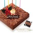 クリスマスケーキ チョコレートケーキ 冷蔵便[冷]予約 送料無料 2020 チョコ 飾り ボヌール・カレ クリスマス チョコ…