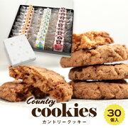 職人の手作りクッキー【30個入り】サクサク香ばしいカントリー風オートミールクッキーチョコチップクッキー