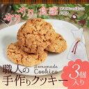 職人の手作りクッキー 3個入プチギフト クッキー ギフト 500円 300円 誕生日プレゼント スイーツ お菓子 焼き菓子