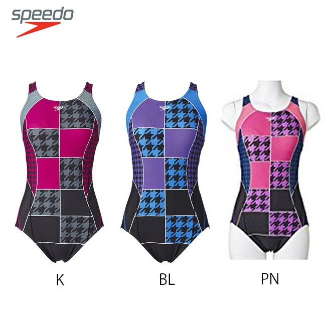 【送料無料】【SD57Y24】SPEEDO スピード レーシングフィットネス水着 ワンピース水着 SPEEDO レディース フィットネス05P20Sep14