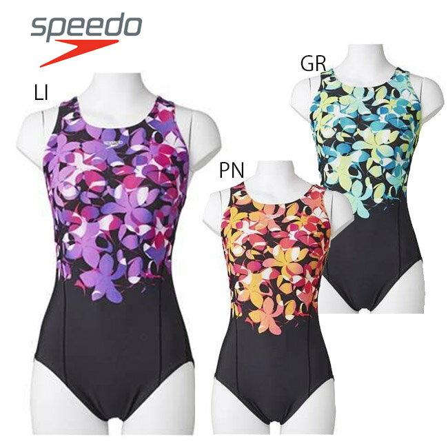 【送料無料】【SD57Y25】SPEEDO スピード レディース競泳Lap Swim スーツ トレーニング水着 女性用水着おしゃれ 練習用05P01Mar15