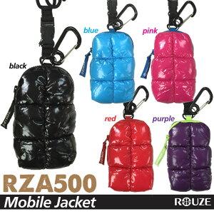 【RZA500】 ROUZE モバイルジャケットモバイルポーチ ダウンジャケット風スキー スノーボード