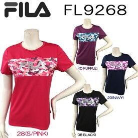 【送料無料】【FL9268】FILA 半袖 Tシャツかわいい オシャレ 女性用プリント柄 おすすめ トップスダンス エアロビクス エクササイズ フィットネス 05P21May14