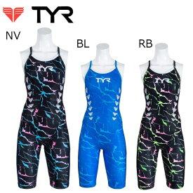 【送料無料】TYR オールインワン水着 ティア レディース トレーニング ハーフスパッツ 水着 女性用 レディース 水着 日本製【SLIGT-19M】