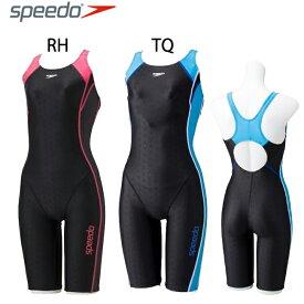 【送料無料】競泳水着 スピード レディース SPEEDO トレーニング ウイメンズ Lap Swim スパッツスーツFLEXΣ【SD58N13】