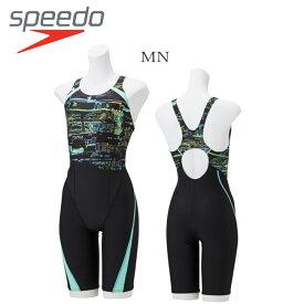 【送料無料】【SFW11932】 SPEEDOスピード フィットネス トレーニング水着 レディース スパッツタイプ ニースキン