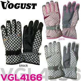 【送料無料】 【VGL4166】 VOGUST スノーグローブ初心者におススメ シンプル 千鳥柄