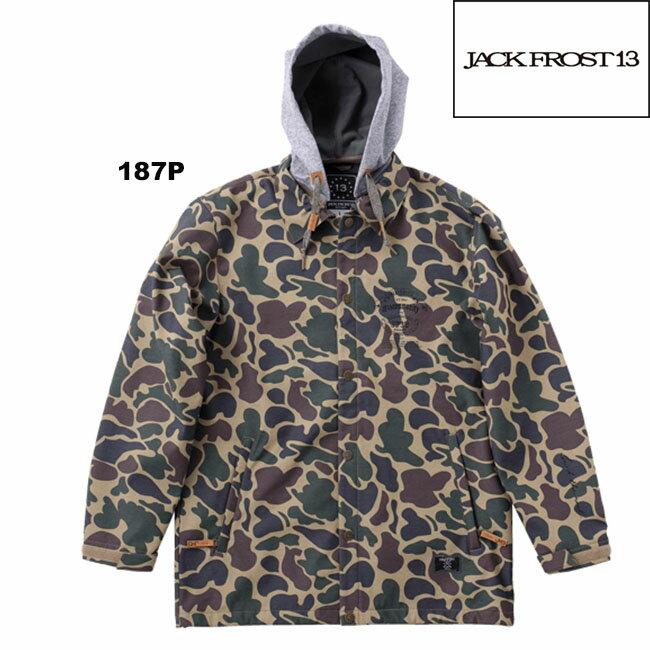【JFJ98701c】JACK FROST13 COACH JKT ジャックフロストワンスリー スノーウェアボードウェアオンヨネ(ONYONE) ユニセックス ストリート おしゃれ男性用 かっこいい 05P30Nov13