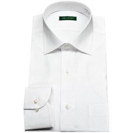 【送料無料】ワイシャツ 長袖 形態安定 メンズ スリム スリムフィット レギュラーカラー ビジネス ドレスシャツ Yシャツ カッターシャツ ビジネスシャツ シャツ わいしゃつ 白シャツ リクルート 就活 冠婚葬祭 男性 3L MILA MODA 結婚式 ホワイト バーゲン 新生活