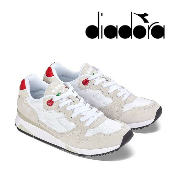 【送料無料・送料込(一部地域を除く)】 diadora ディアドラ N7000 NYL 2 (0823) ホワイト/フェラーリレッド メンズ・レディース