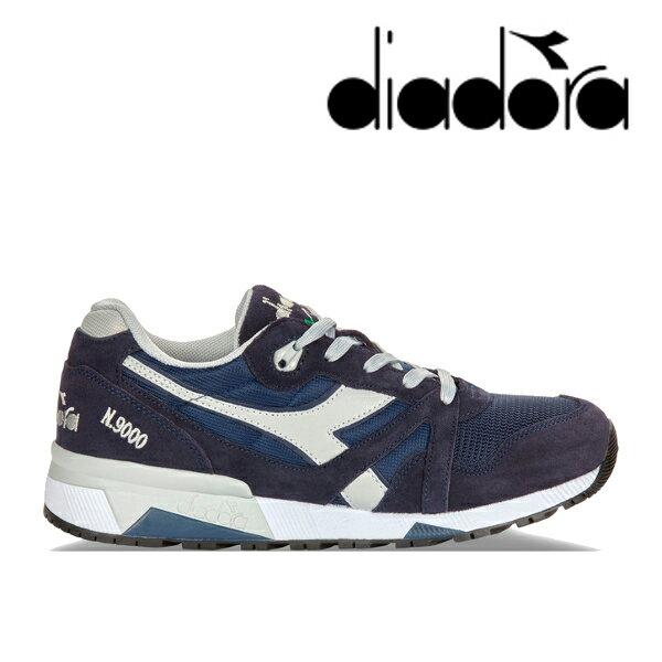 【送料無料・送料込(一部地域を除く)】 diadora ディアドラ N9000NYL III 171853 C.ネイビー/ハイライズ(4983) メンズ レディース