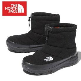 【送料無料・送料込(一部地域を除く)】 ザ・ノースフェイス ヌプシブーティーウールVショート(ユニセックス)THE NORTH FACE Nuptse Bootie Wool V ShortNF51979(K)TNFブラック メンズ・レディース・ユニセックス