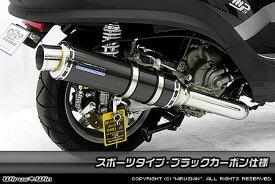 WirusWin ピアジオ MP3 250RL ダイナミックマフラー ブラックカーボン仕様/ウイルズウィン