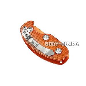 キー収納ツール クリップ付き オレンジ 鍵 複数 収納 最大5個 キーケース スマートキーケース 便利 ポケット 携帯 コンパクト 持ち歩く 持ち運び レディース メンズ ユニセックス