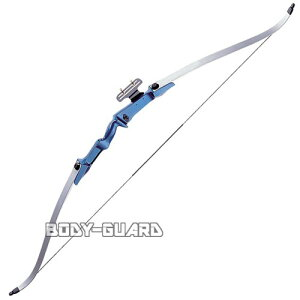 PL社製 RECURVE BOW 30ポンド 大型アーチェリー シルバー ブルー リカーブタイプ 弓 矢 スポーツ アーチェリー弓 ボウ 弓矢 スポーツ用品 アーチェリー用品 アーチェリーグッズ 弓矢用品 スポー