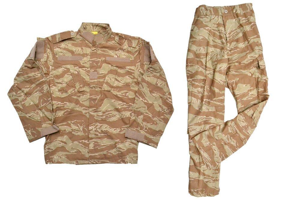 【送料無料】イギリス軍 砂漠迷彩タイプ 初期型 迷彩服 戦闘服 上下セット