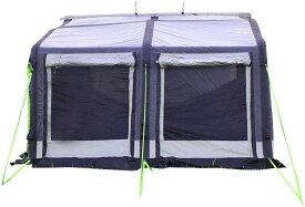 【送料無料】2.8m ルーフレール用ステイ付属 インフレータブル 自家用車取り付け可能 Cレール サイドテント Cレイル
