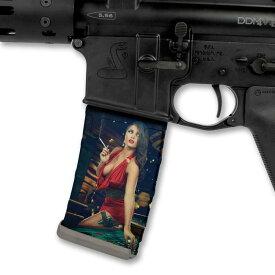 【送料無料】Mag Wraps AR15 M4系 マグラップ 5.56mmマガジン用 ステッカー Hot Shots 2014 India & Casino 2枚入