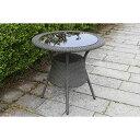 ラタン テーブル80【ガーデンテーブル・屋外家具】