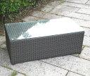 【ガーデンテーブル・屋外家具】ラタン ローテーブル