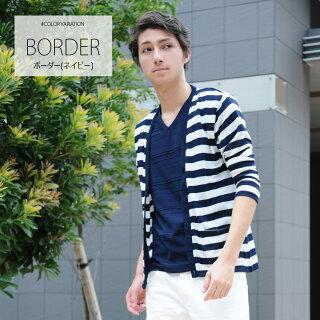 ボーダー(ネイビー)-border-