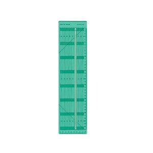 溝の中にロータリーカッターの刃が入るので、ロータリーカッターが曲がったり、定規からそれていくことがありません。 カット幅は1mm単位で設定できます。 製造国:日本 商品サイズ:本体:1