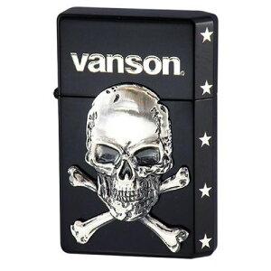 生活日用品 オイルライター vanson×GEAR TOP V-GT-04 クロスボーンスカル ブラック おすすめ 送料無料