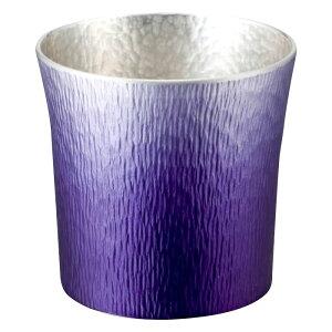家事用品関連商品 錫製タンブラー 310ml 紫 木箱入 1162-057 オススメ 送料無料