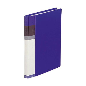 クリヤーブック・ルポ ワイド B5・S型(26穴) ポケット30枚 N-4612 8・青おすすめ 送料無料 誕生日 便利雑貨 日用品