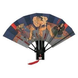 飾り扇子 版画扇子 相撲絵図扇 小野川 713人気 商品 送料無料 父の日 日用雑貨