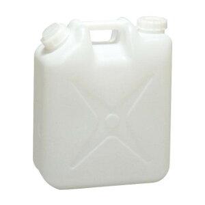 飲料水用ポリタンク 白 2ケ1組・20×36×42cm 59009 お得 な 送料無料 人気 トレンド 雑貨 おしゃれ