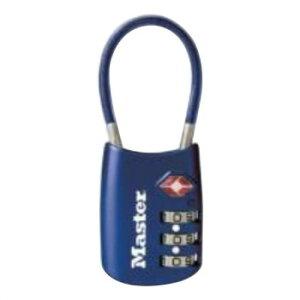 便利グッズ アイデア商品ナンバー可変式TSAロック ワイヤータイプ 4688JADBLU 人気 お得な送料無料 おすすめ