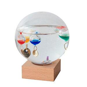 ガラスフロート温度計 ドームL 333-210お得 な 送料無料 人気 トレンド 雑貨 おしゃれ