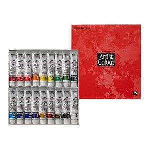 ターナー色彩アーティストカラー20ml18色セットAAN2018C