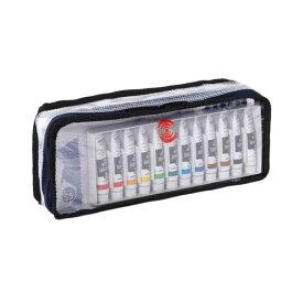 生活日用品 ターナー色彩 アクリルガッシュ ポーチセット(B) AG12POD8