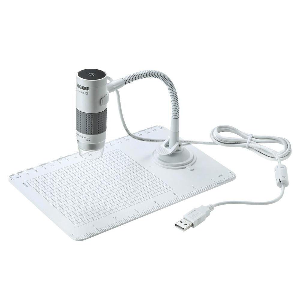 お役立ちグッズ USB顕微鏡 LPE-07W