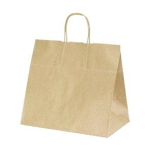 T-11W 自動紐手提袋 紙袋 紙丸紐タイプ 340×220×320mm 200枚 茶無地 1196おすすめ 送料無料 誕生日 便利雑貨 日用品