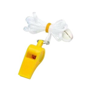 カラーホイッスル 黄 20個セット YO-CWYFお得 な全国一律 送料無料 日用品 便利 ユニーク