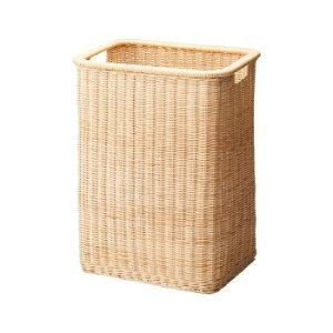 便利な天然素材の脱衣かごです。 生産国:中国 素材・材質:籐(ラタン) 商品サイズ:W37.5×D30×H50cm