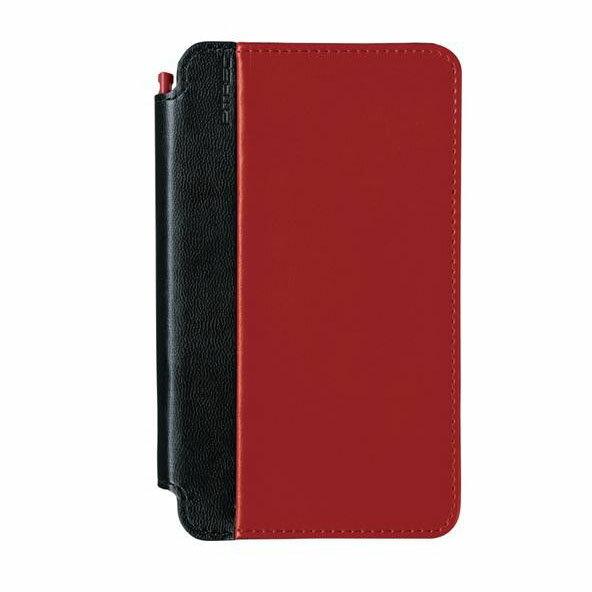 PC・携帯関連 KING JIM(キングジム)「ピットレック」専用ケース 合皮タイプ DNC6 レッド