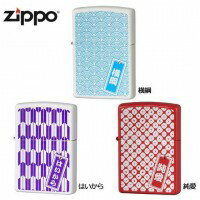 喫煙グッズ ZIPPO(ジッポー) ライター 和紋様シリーズ 純愛・63390398