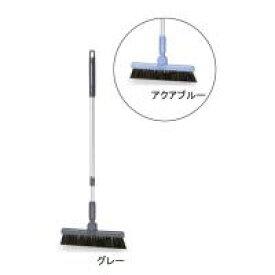 生活関連グッズ ホーキ(伸縮柄) 26cm グレー□ほうき 掃除用具 日用品雑貨 関連