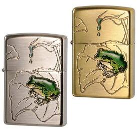 その他ライフグッズ(趣味) ZIPPO(ジッポー) ライター 蛙 真鍮古美・63430298