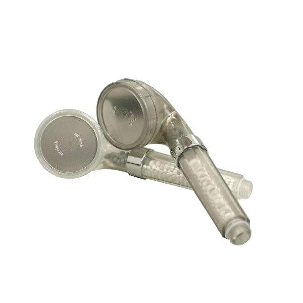 便利雑貨 SPA+(スパプラス) シャワーヘッド シルキーグレイ