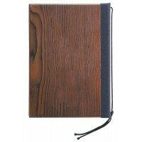 文具 SHIMBI シンビ 業務用 木製メニューブック 焼杉-102(B-5 4ページ仕様)