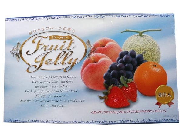 おかし 美味しい 評判 アソートフルーツゼリー25個 ×4セット 25581