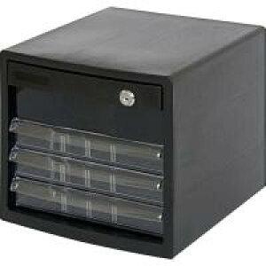 アイデア 便利 グッズ A4レターケース4段 (鍵付深1/浅3段) A4E-SK4B お得 な全国一律 送料無料